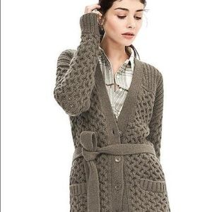 Banana Republic Chunky Cable Knit Oversized